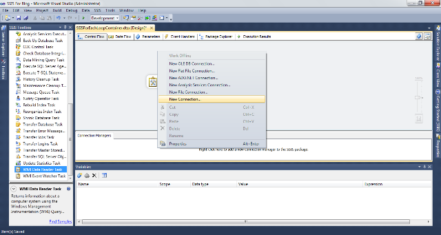 SSIS Package Disk Space With WMI 2