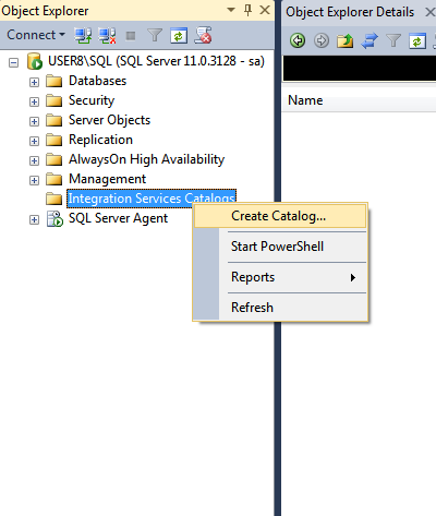 how to build ssis package in sql server 2012